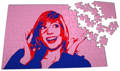 Grand puzzle Pop Art. RRB.