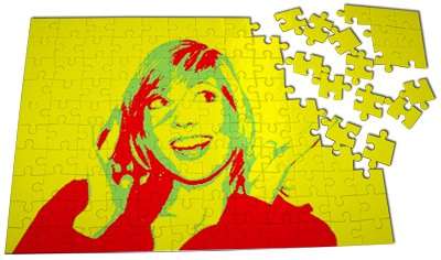 Grand puzzle Pop Art. JVR.